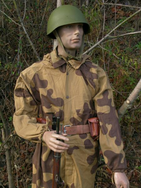 Soviet World War 2 Camouflage Uniforms And Winter Clothing