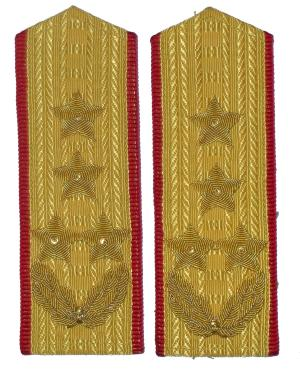 Chinese Military on Cgsb14  Chinese Army 4 Star General Shoulder Boards  This