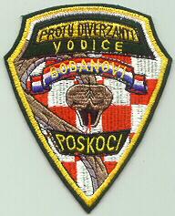 insignes Croate H.V et H.V.O 1991/1995 Cr109