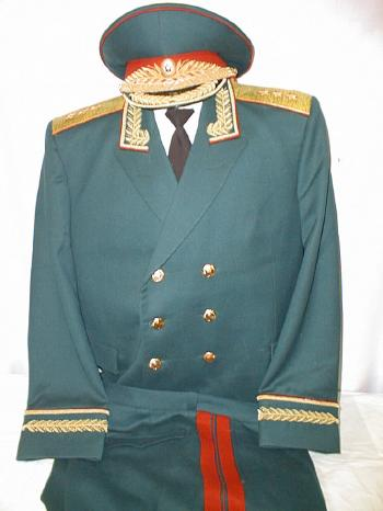 Sovietarmy 3 star general parade uniform jacket breeches visor jacket