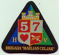 insignes Croate H.V et H.V.O 1991/1995 Cr177