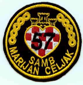 insignes Croate H.V et H.V.O 1991/1995 Rs129b