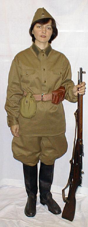 Wwii Russian Uniform 40