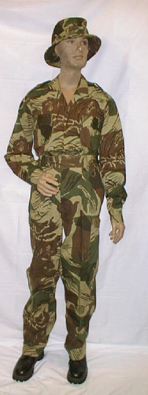Reproduction rhodesian camouflage - reduced prices to make room