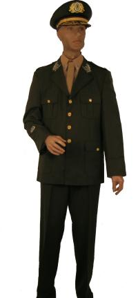 Long Army Jacket