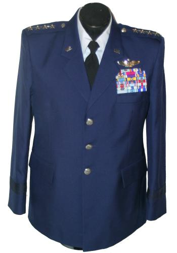Officer and Enlisted uniforms