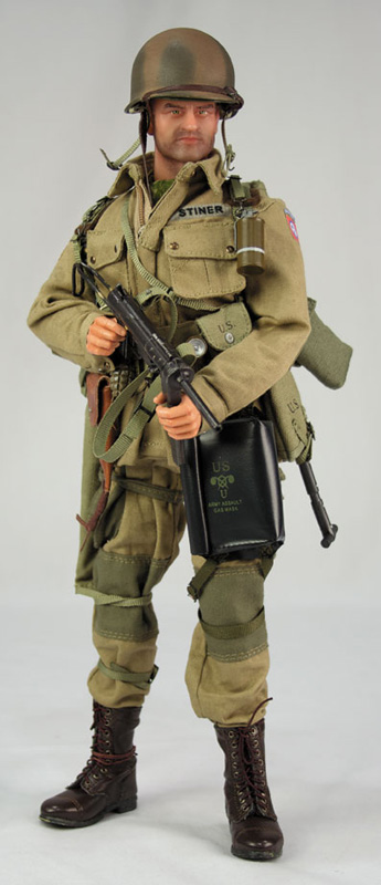 Did 3r Soldier Story Action Figures