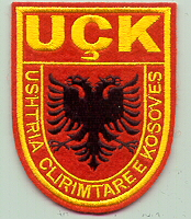 KLA patches, NATO pocket badges and patches